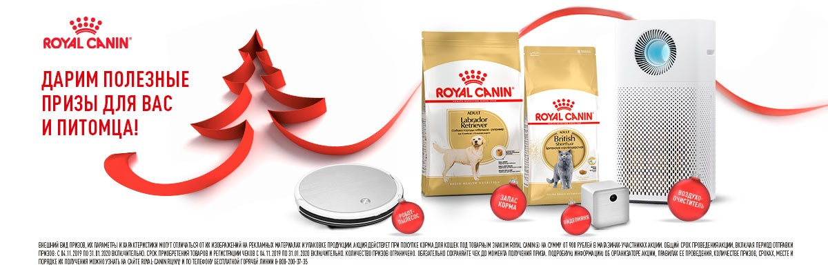 Купить корм Royal Canin (Роял Канин) для собак и щенков в